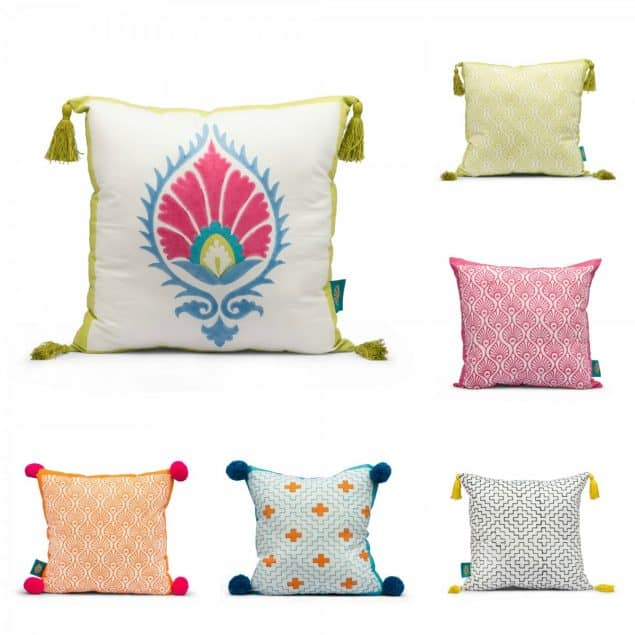 East London Parasols Cushions