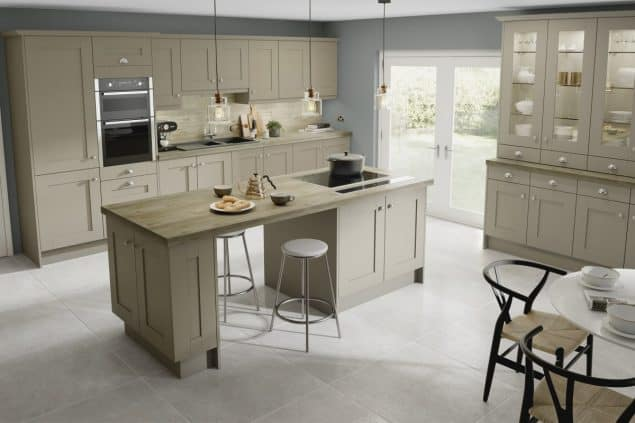 Solid Wood kitchen work surface