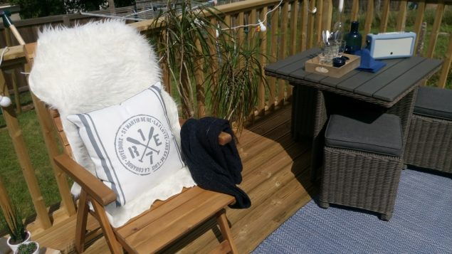 The Design Sheppard Nautical Garden makeover