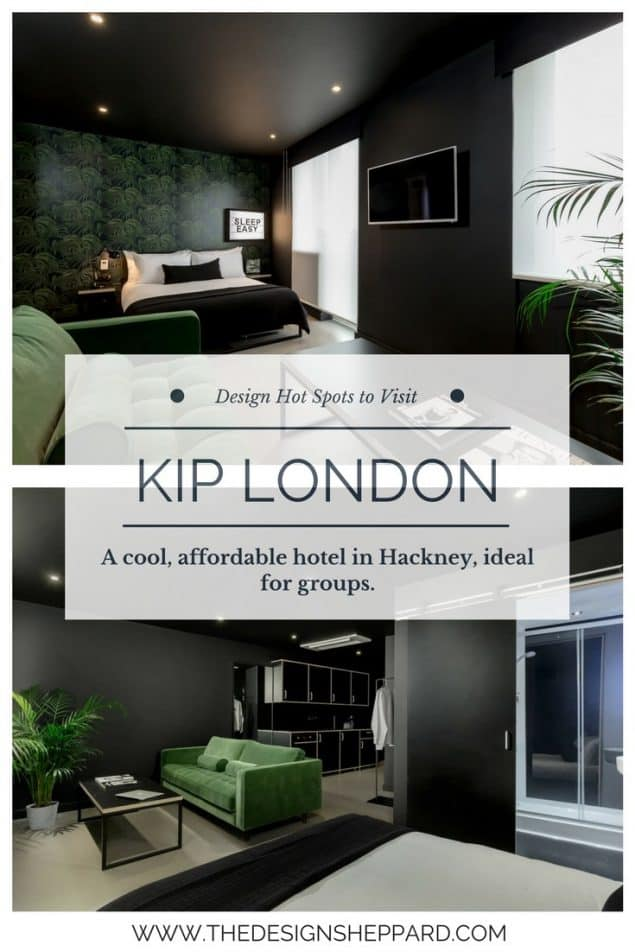 Kip London an affordable design hotel in London