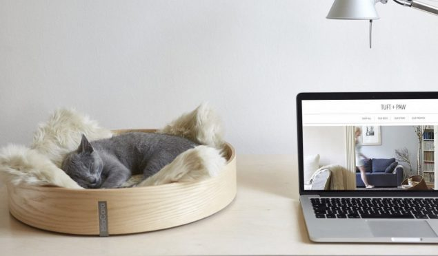 Anello Cat Bed by Tuft + Paw - stylish cat beds for design conscious pet owners
