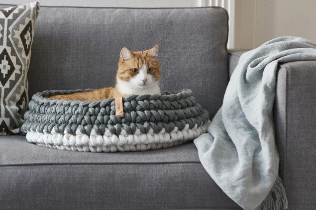 Astrid Cat Bed by Tuft + Paw - stylish cat beds for design conscious pet owners