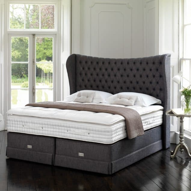 Luxury bedroom featuring the Hypnos Royal Comfort Eminence Mattress