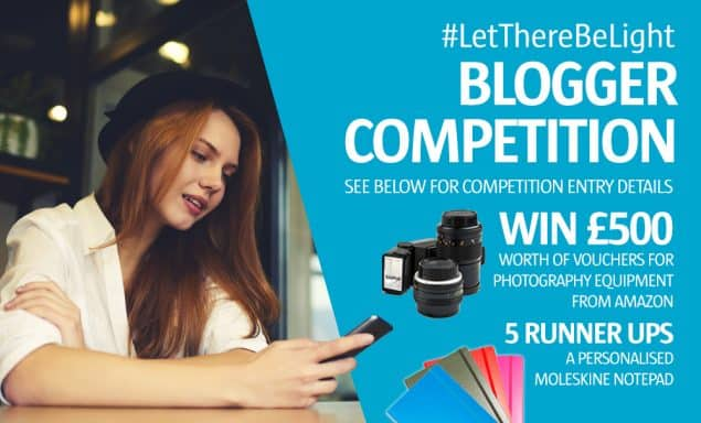 LetThereBeLight Blogger Competition to win £500