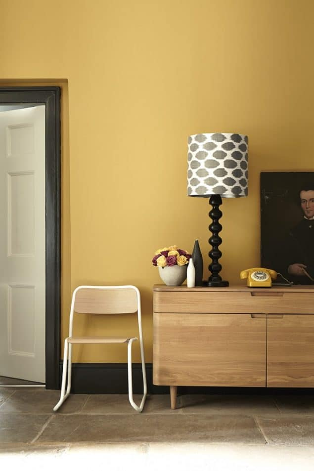 Trend : Coloured Skirting Boards - The Design Sheppard