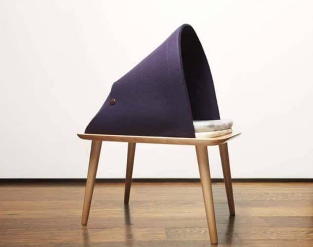 Indigo Cat Bed by Tuft + Paw - stylish cat beds for design conscious pet owners