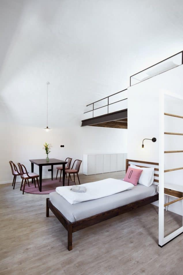 Design Hostel Long Story Short in the Czech republic_Girls Choice room_photo by Josef Kubicek