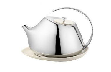 Georg Jensen Helena Teapot with coaster 1.3L