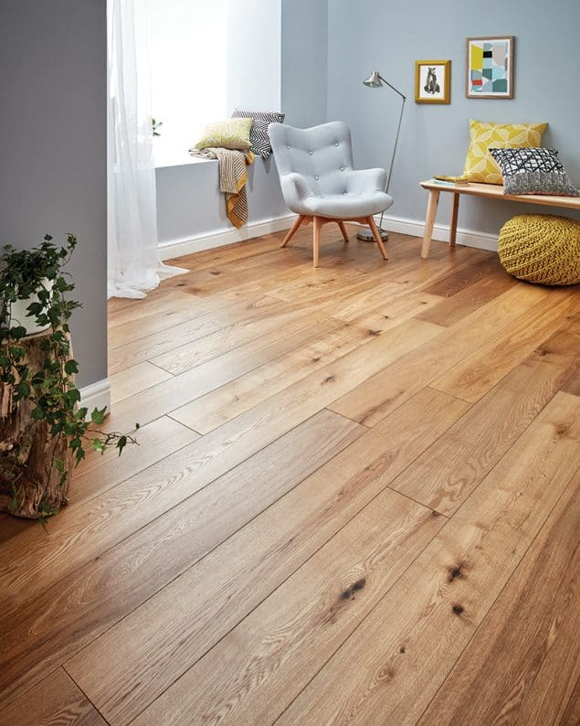 Harlech Smoked Oak wood flooring from woodpecker flooring can help to add value to your home