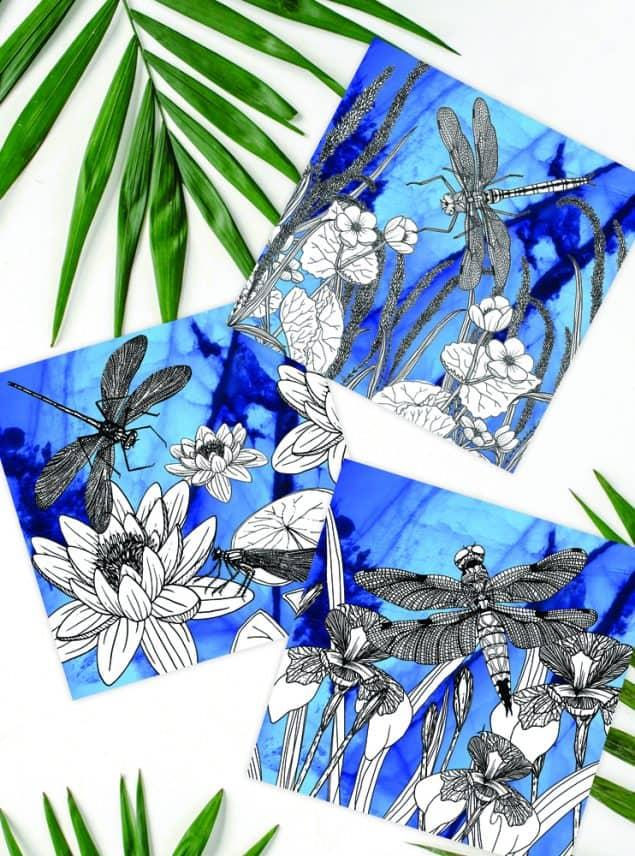 Textile Designer Jenny Evans artwork