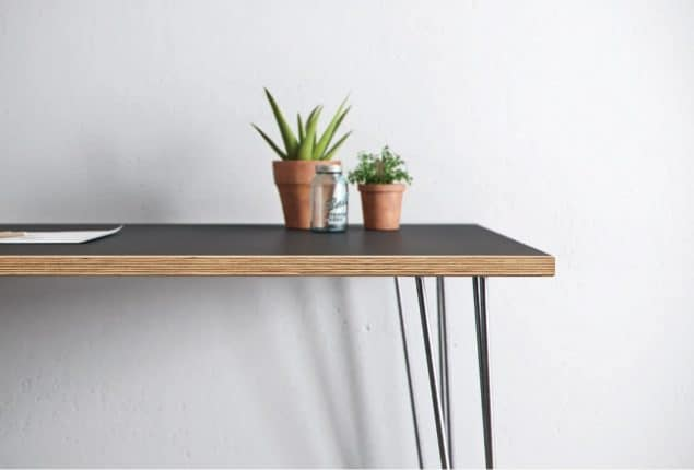 The Hairpin Leg Co Grey desk 2