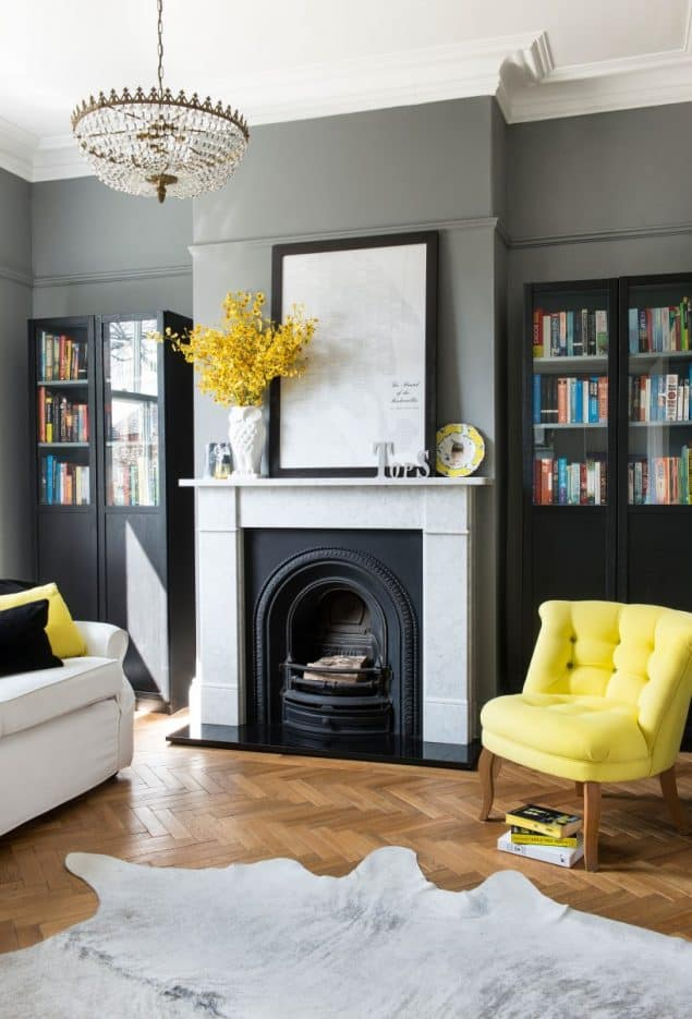 Livingroom design by Caroline Firth member of the Interior Design Collective