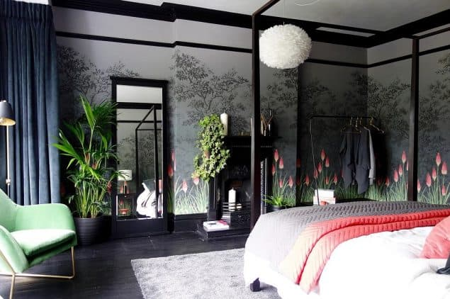 Master Bedroom Design by Karen Knox member of the Interior Design Collective