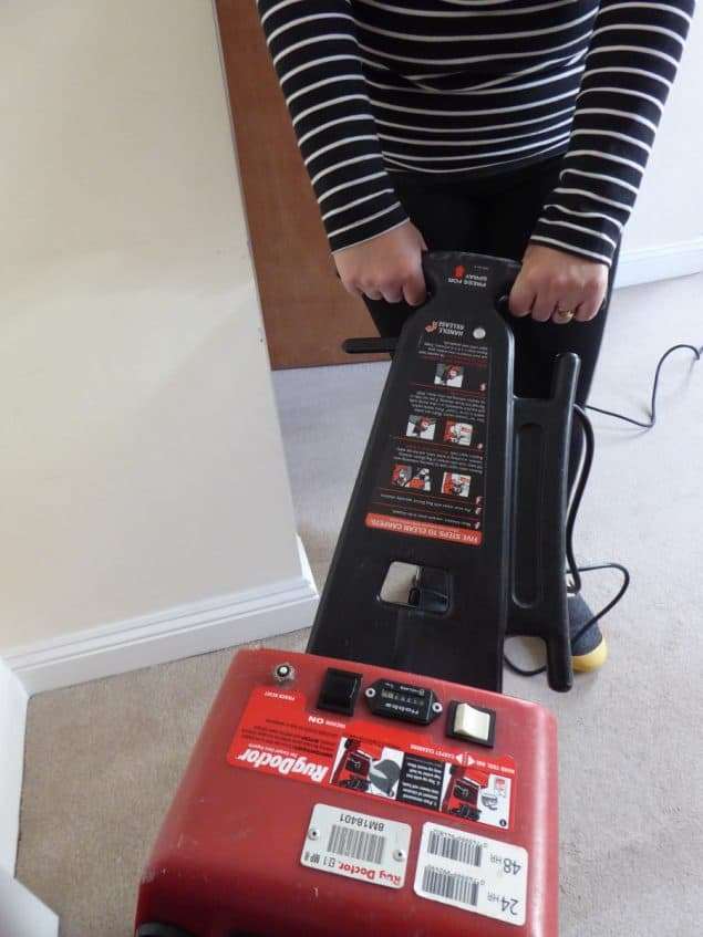 Rug Doctor Carpet Cleaner Review 4