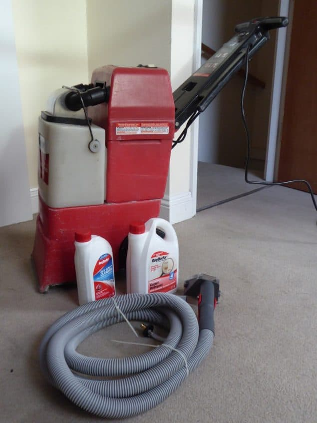 Rug Doctor Carpet Cleaner Review 5