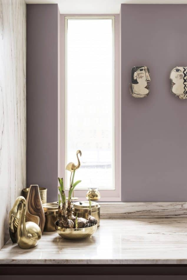 2018 Colour Trends - Dulux Heart Wood Corner
