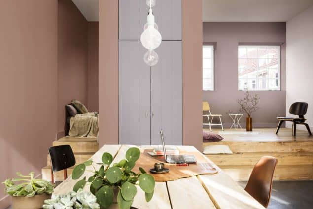 2018 Colour Trends - Dulux Heart Wood Home