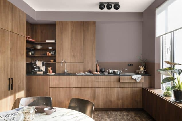 2018 Colour Trends - Dulux Heart Wood Kitchen