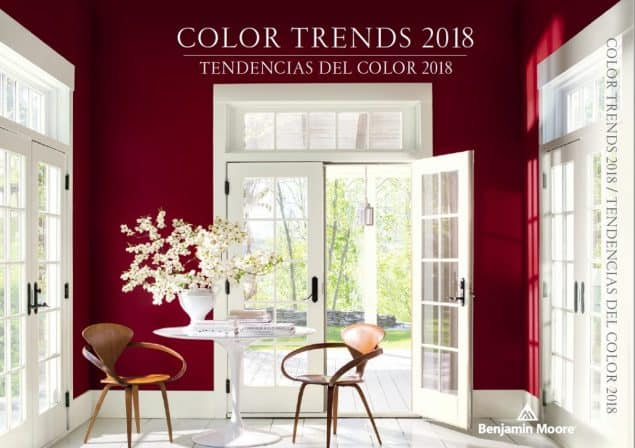 2018 Colour Trends Benjamin Moore Caliente