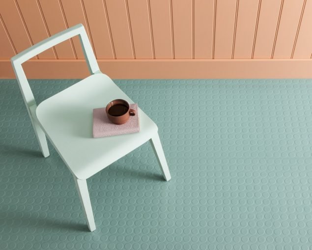 Harvey Maria Rubber Flooring - Peppermint Cream