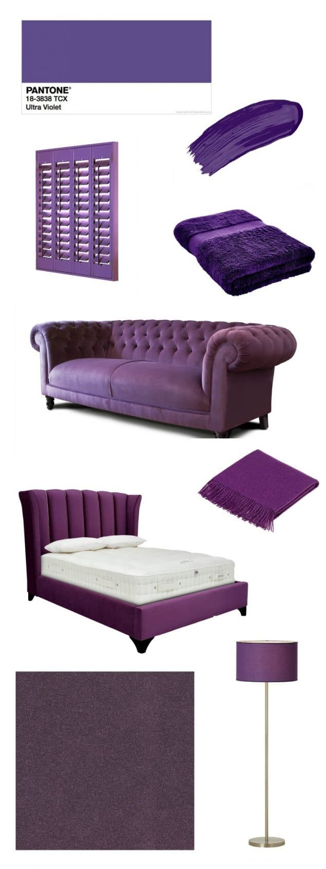 Pantone Ultra Violet Home Interior Products