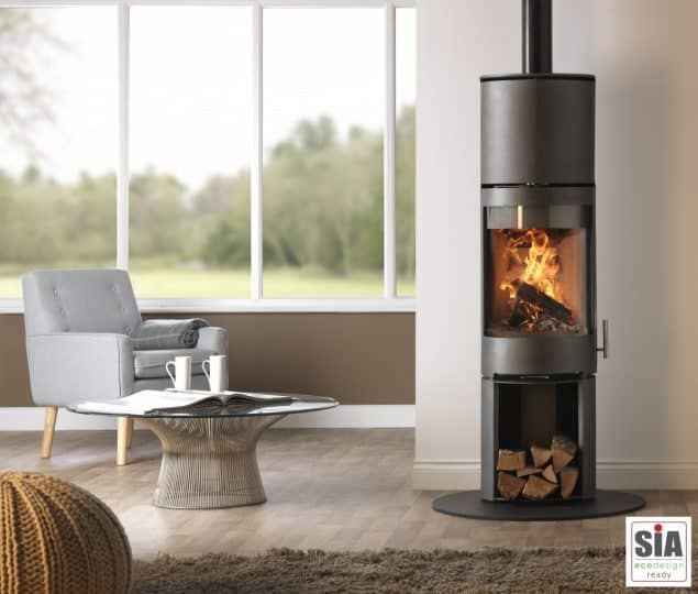 Purevision PVR Stove Log Store And Heat Exchanger Ecodesign Ready