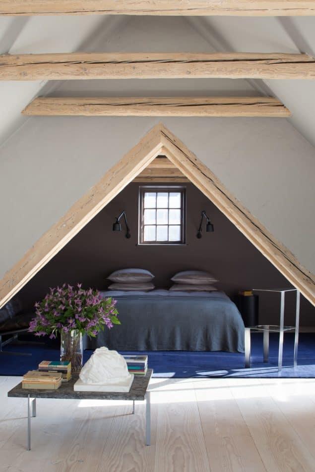 Vipp Hotel Copenhagen Loft Bedroom