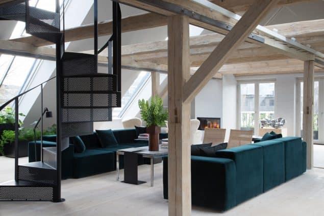 Vipp Hotel Copenhagen Loft Livingroom