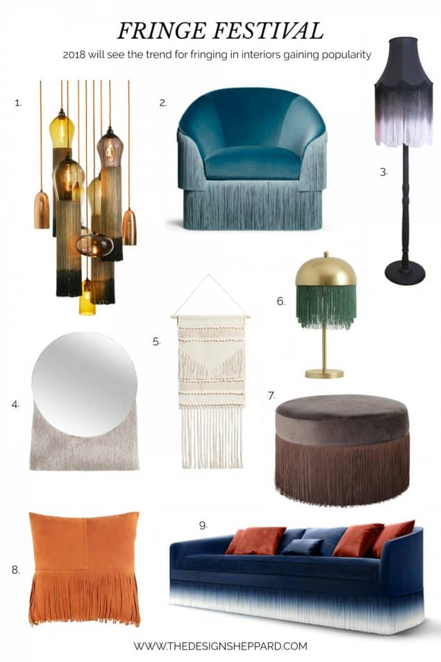 Fringing Trend in interior design