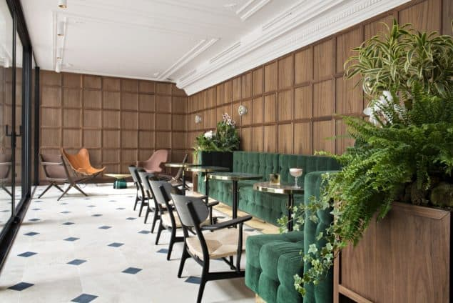 Parister Hotel Paris Lobby (3)