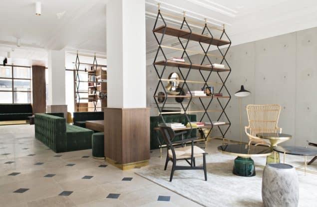 Parister Hotel Paris Lobby (6)