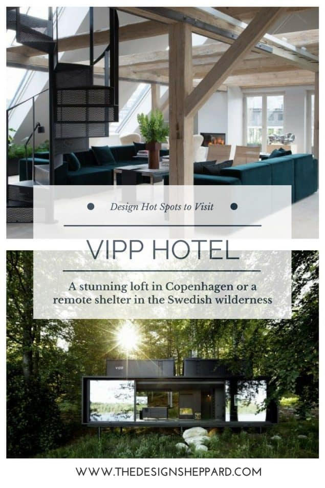 Vipp Hotel is a unique self-serve design hotel concept in Sweden and Copenhagen where you can experience the beauty of Vipp products