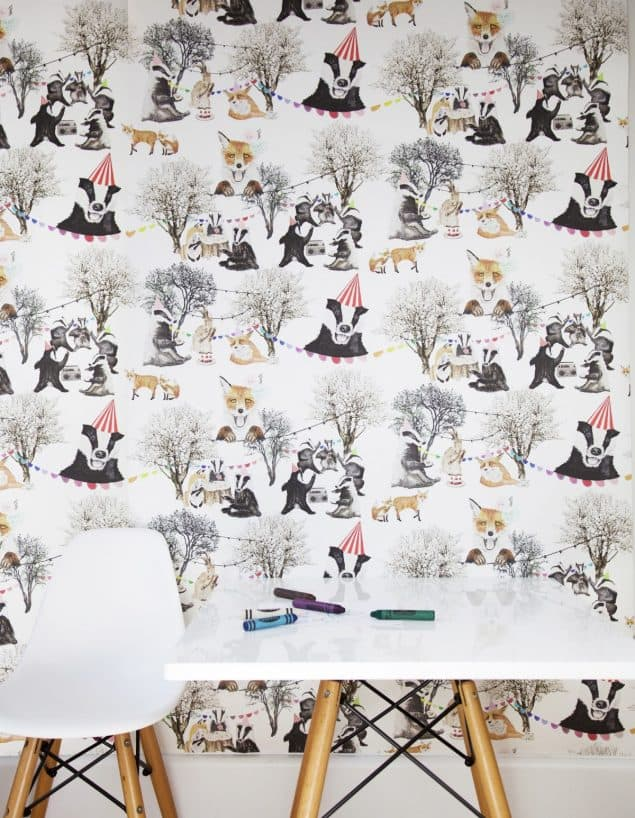 Wild Hearts Wonder Woodland Rave wallpaper
