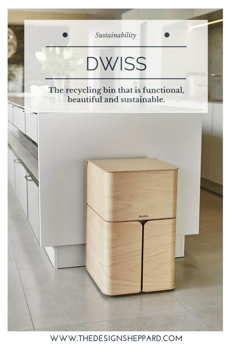 Dwiss sustainable Recycling Bin Pin