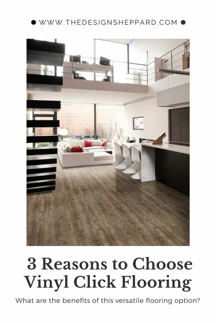 3 reasons to choose vinyl click flooring