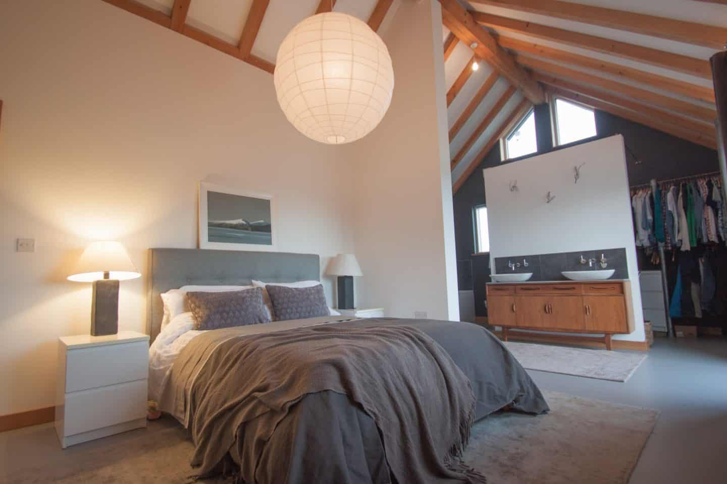 Dream House in Dartmouth Devon master bedroom