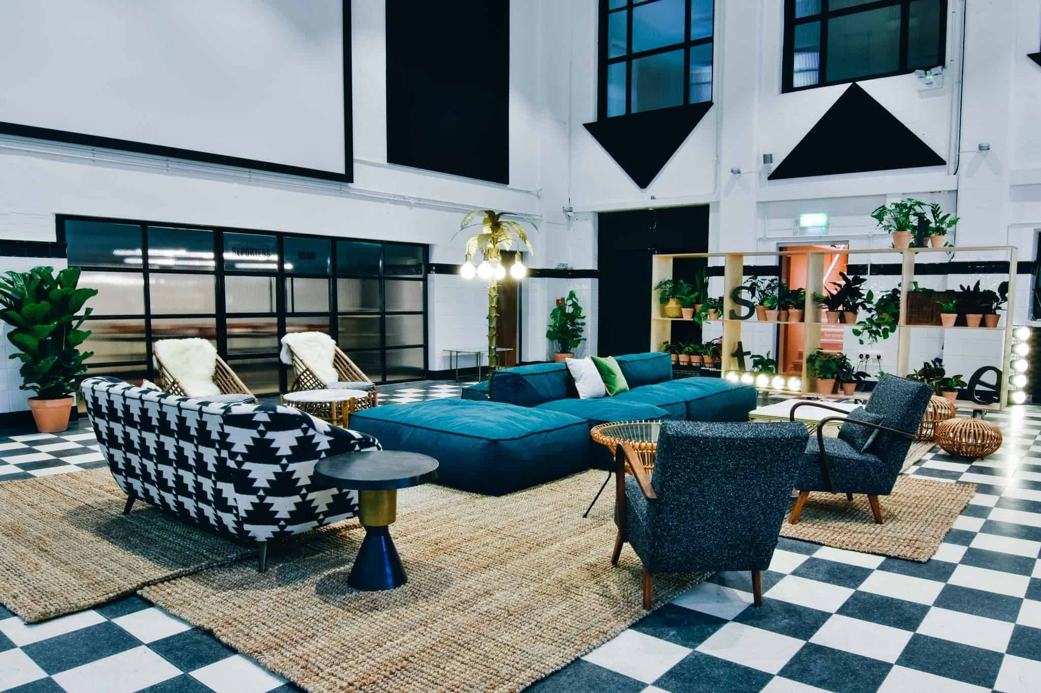 THIS Workspace coworking space in Bournemouth - The Foundry main room