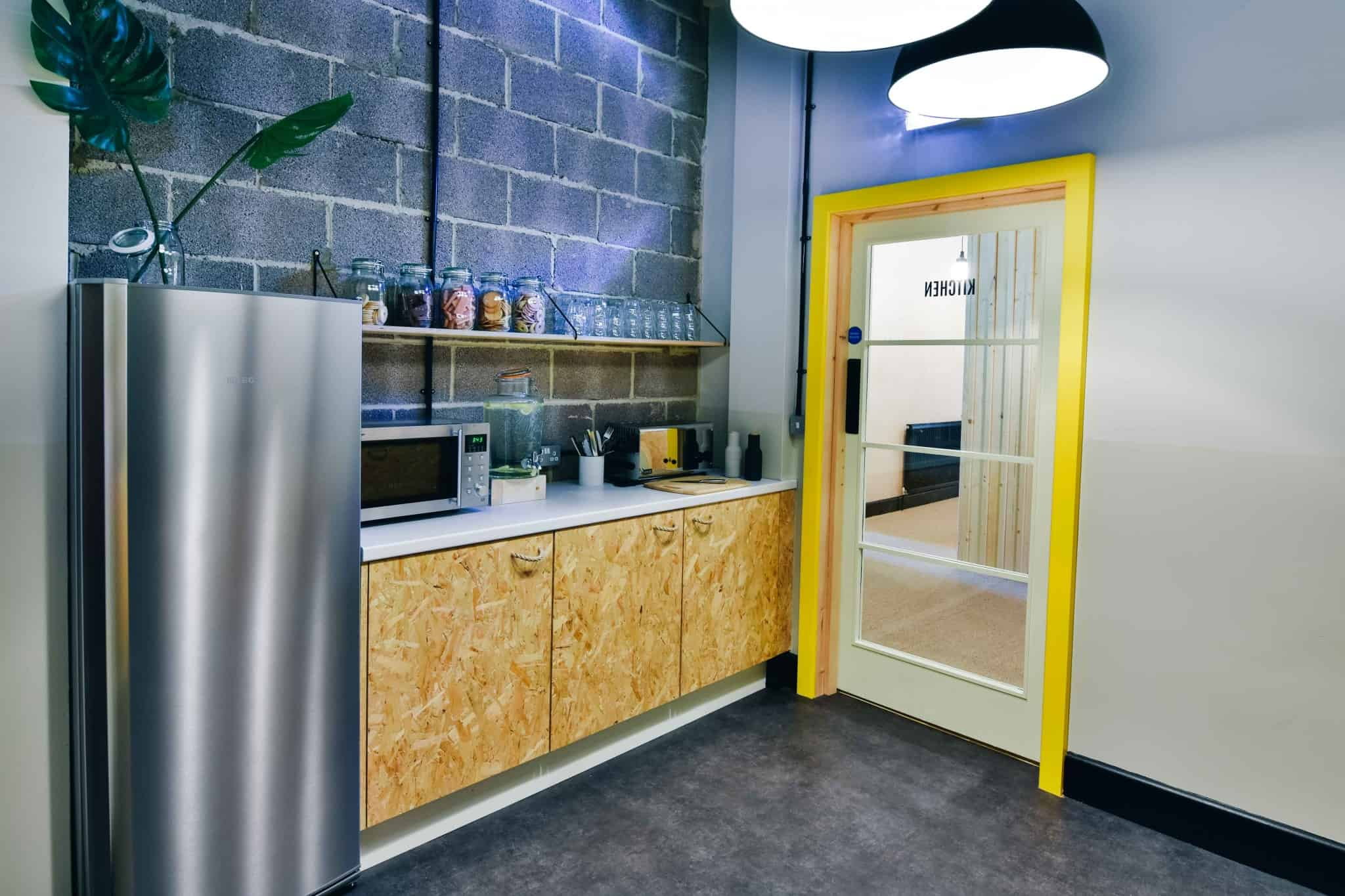 THIS Workspace coworking space in Bournemouth - kitchen
