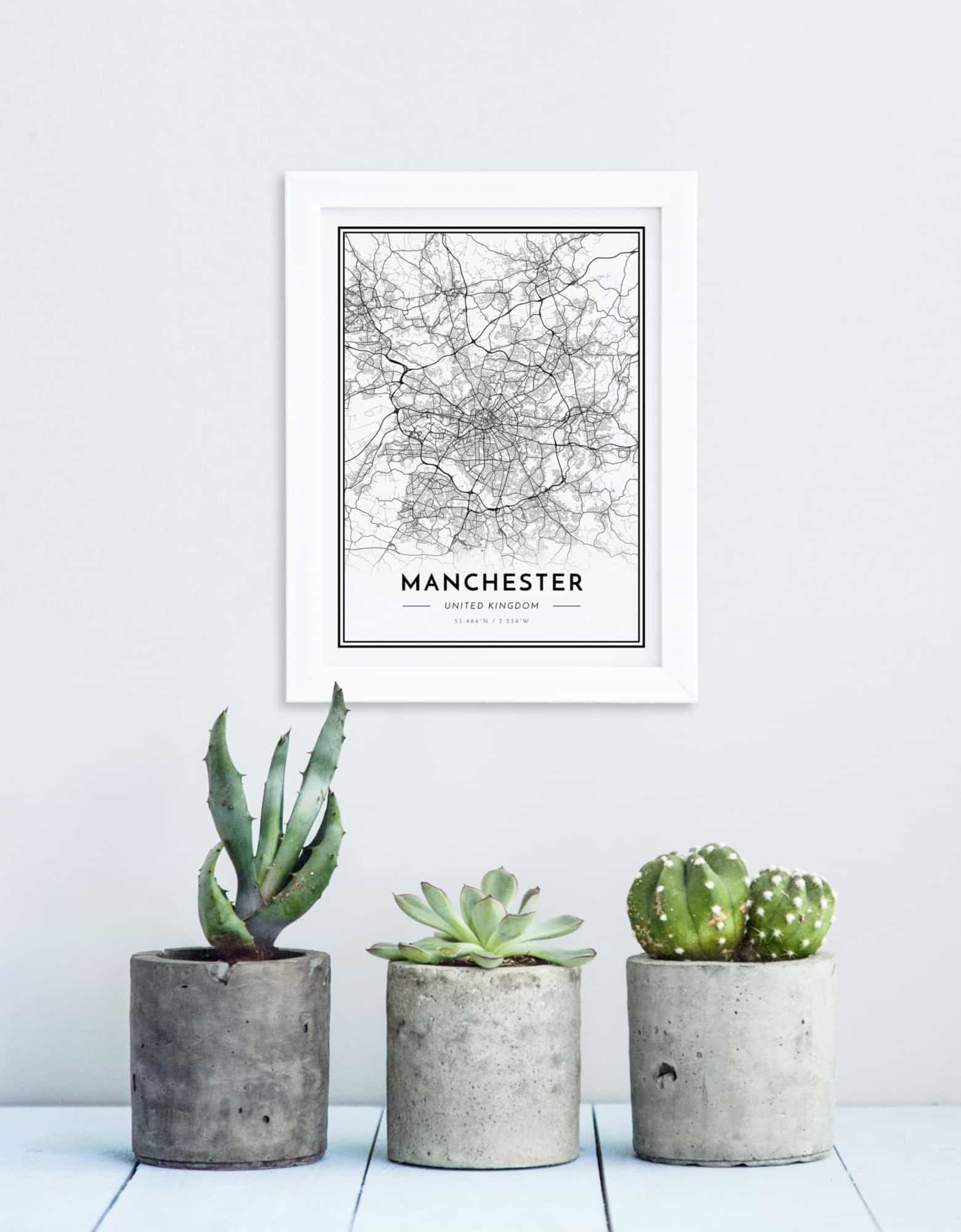 Alvar Carto fully customisable map posters