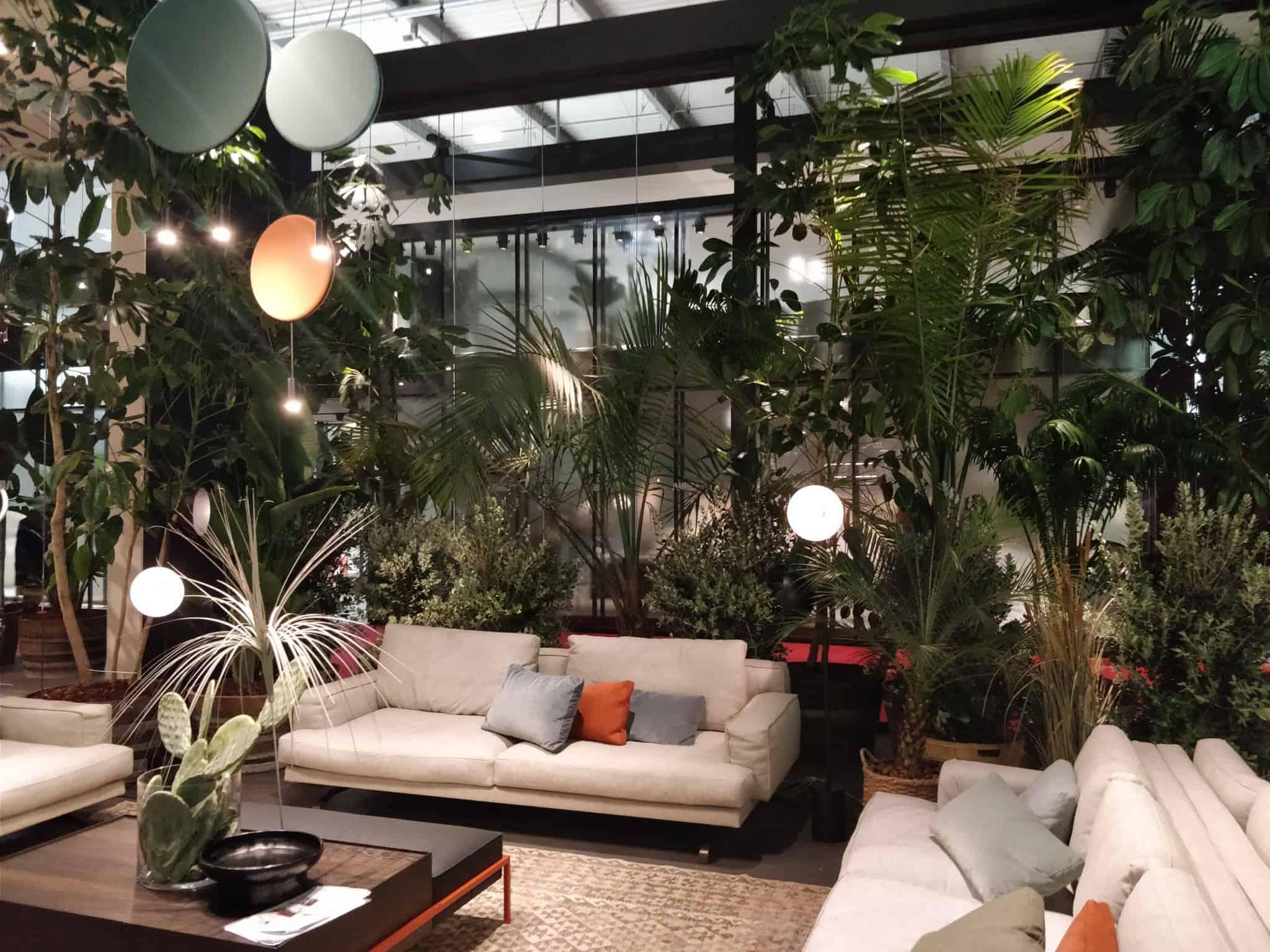 Trend spotting at Salone del Mobile in Milan 2018 furniture trends - metal legs