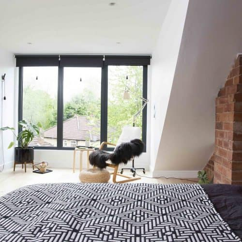 Loft Conversion - Bedroom Dormer - Karen Knox of Making Spaces Loft Bedroom Conversion. 10 Tips for preparing your home for sale - bring in natural light