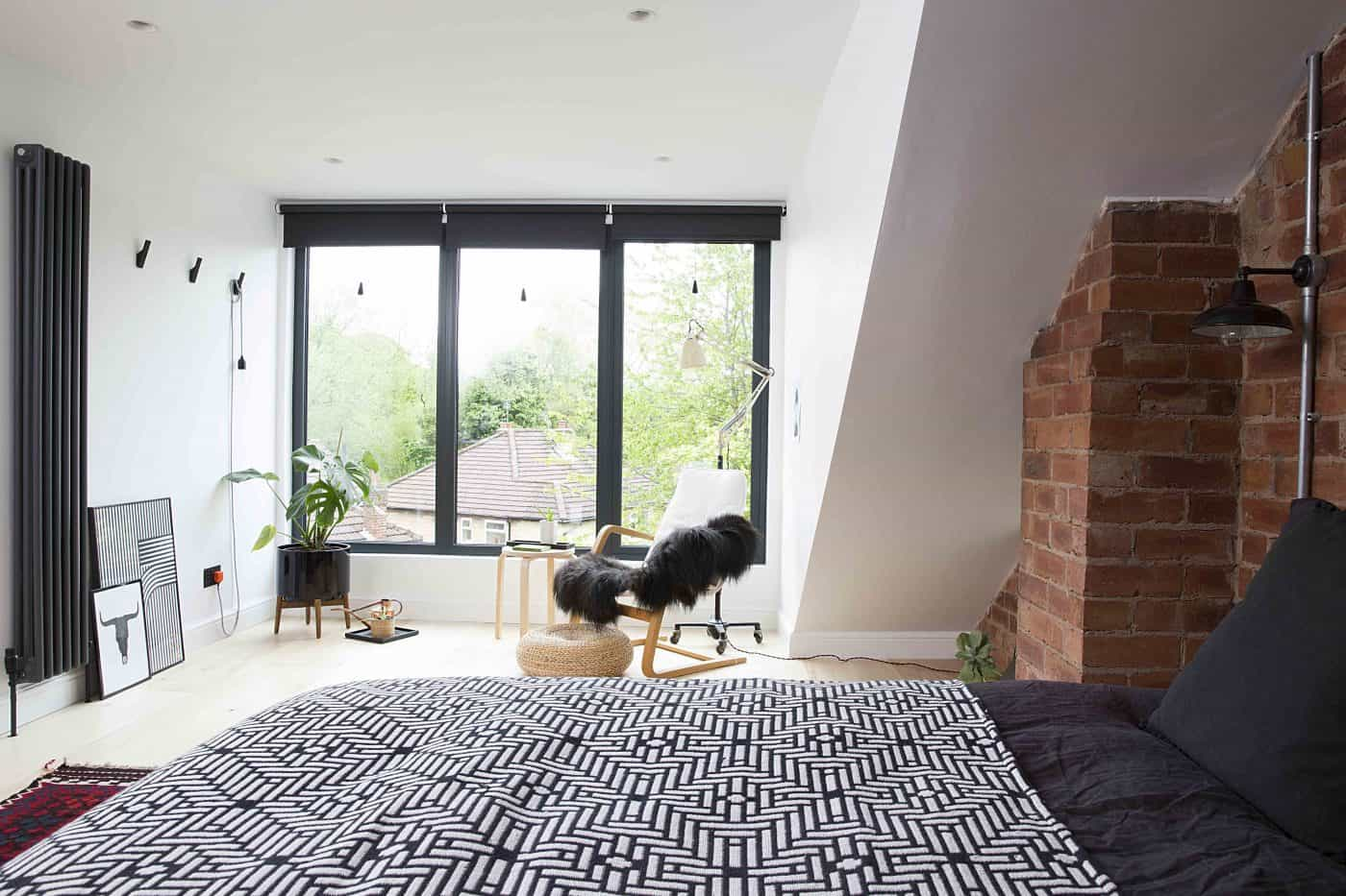 Karen Knox of Making Spaces Loft Bedroom Conversion. 10 Tips for preparing your home for sale - bring in natural light