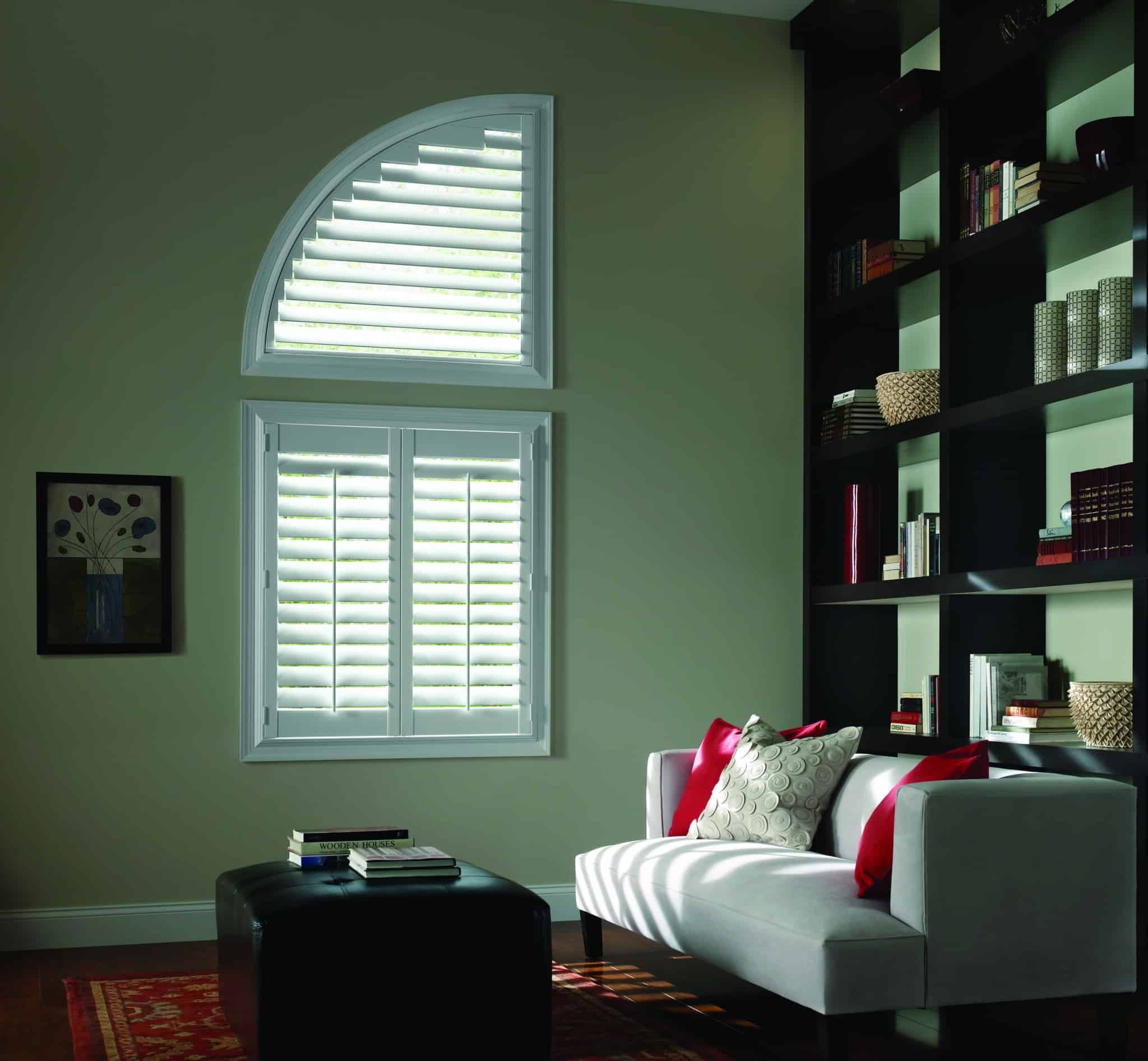 Luxaflex Faux Wood Shutter Angled_lounge