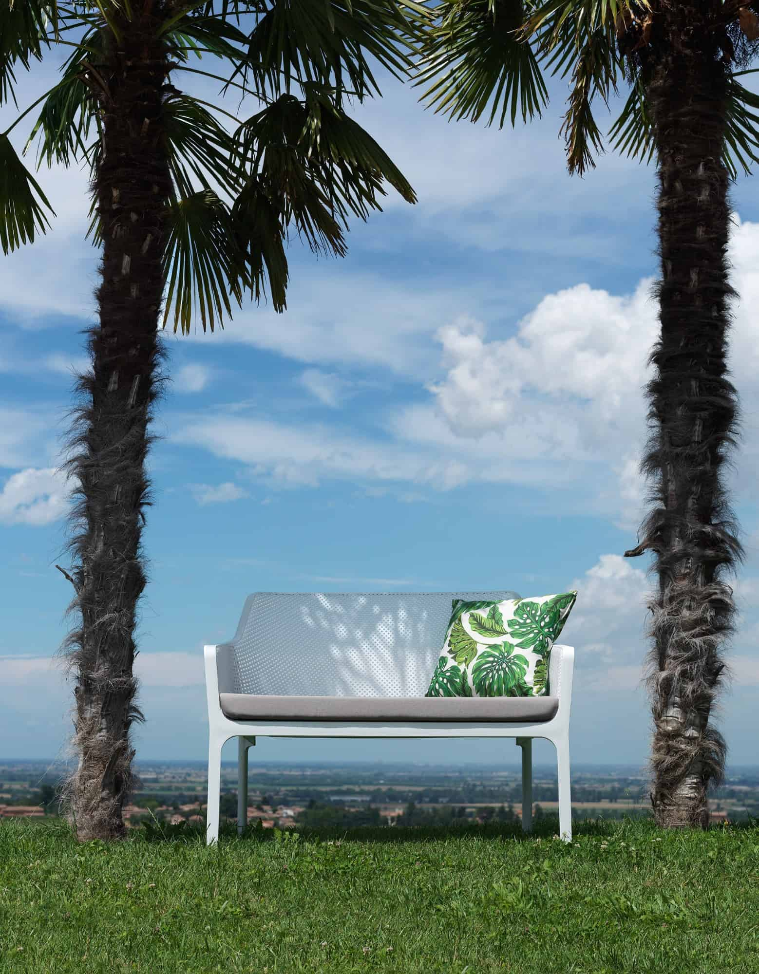 Net Outdoor furniture - sofa by Nardi in white