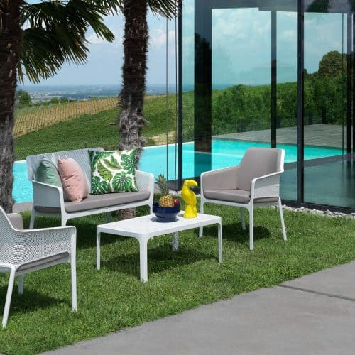 Net outdoor furniture system by Nardi