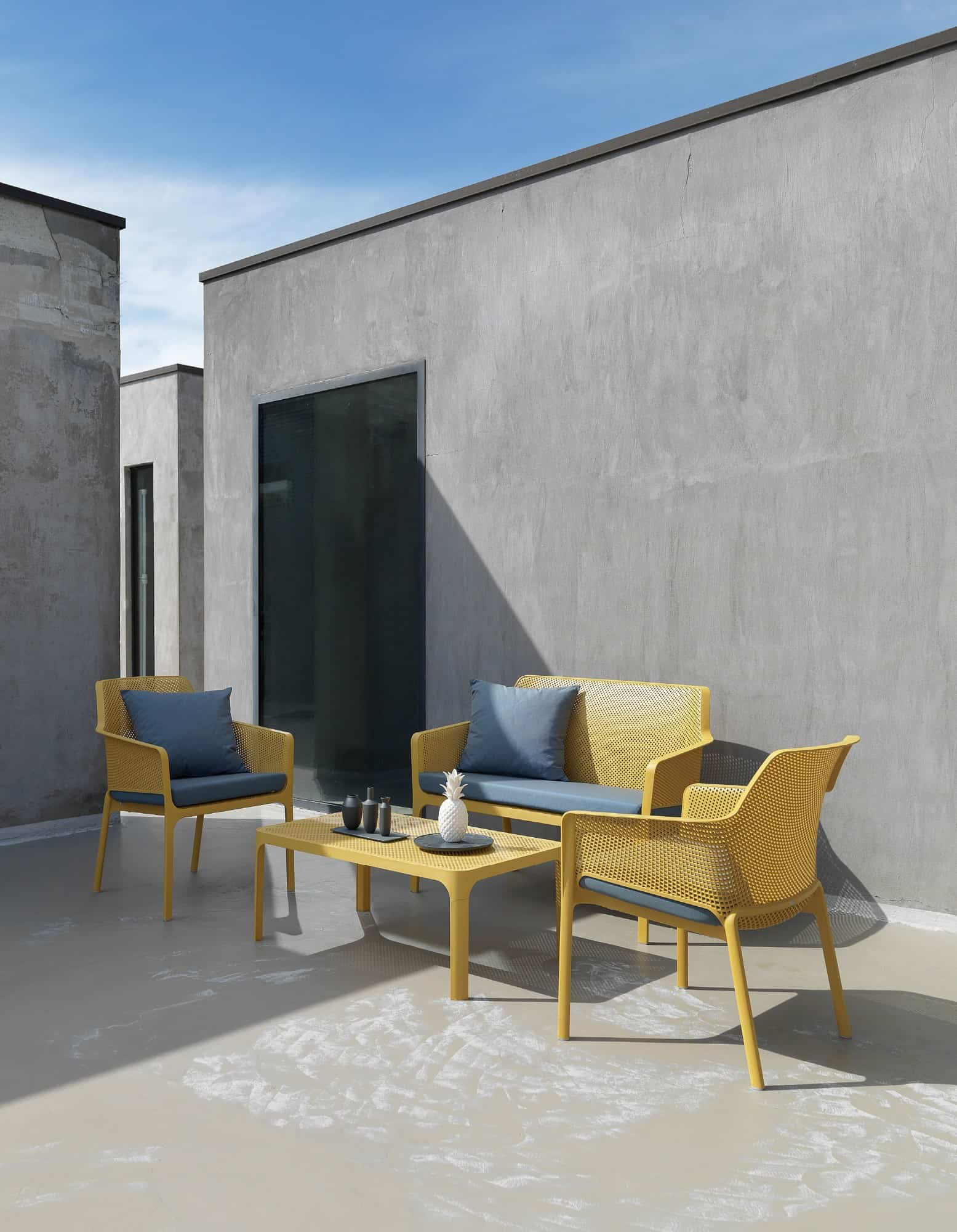 Net outdoor furniture system by Nardi 2