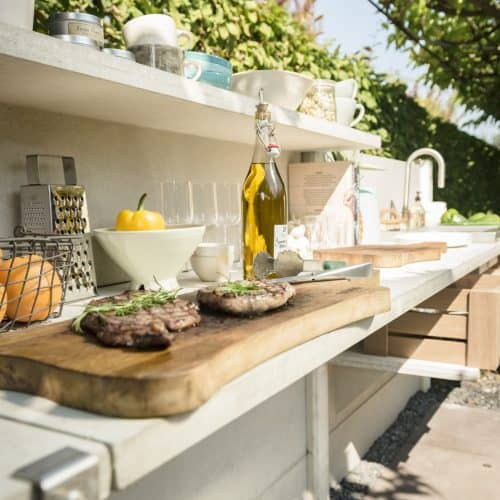 WWOO outdoor kitchen can be customised to fit the requirements of your garden