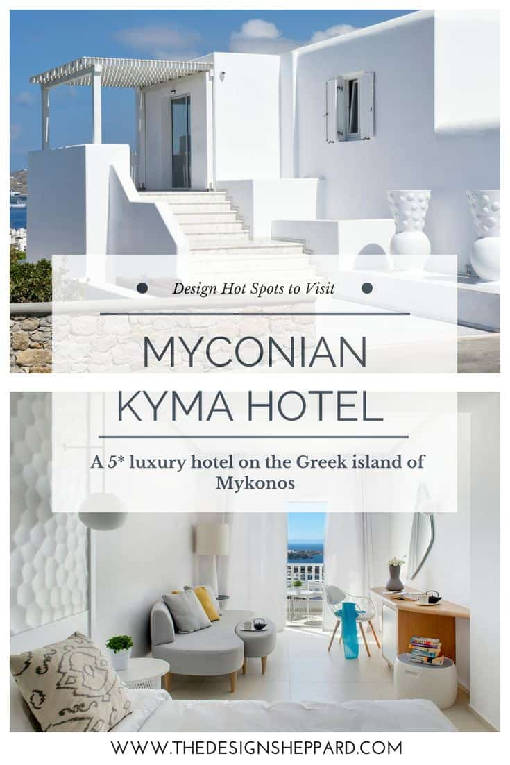 MYCONIAN KYMA DESIGN HOTEL IN MYKONOS GREECE