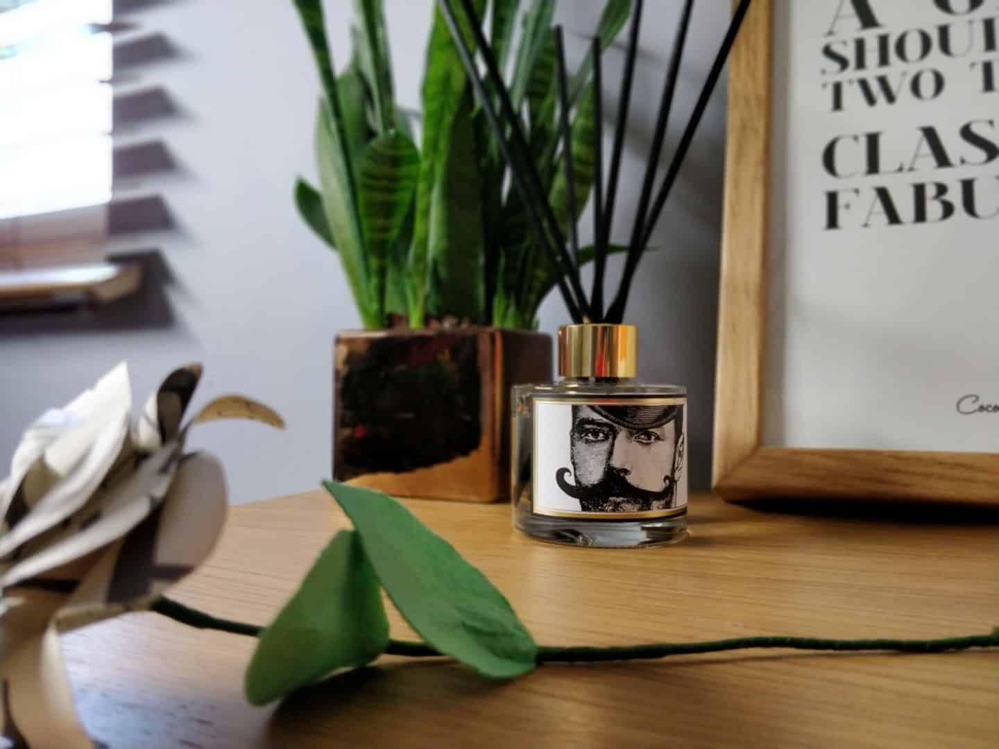 The Dashing Gent Reed Diffuser from Chase & Wonder