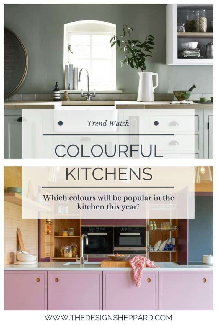Colourful Kitchens Trend Pin